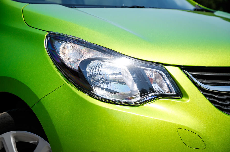 Vauxhall Viva headlight