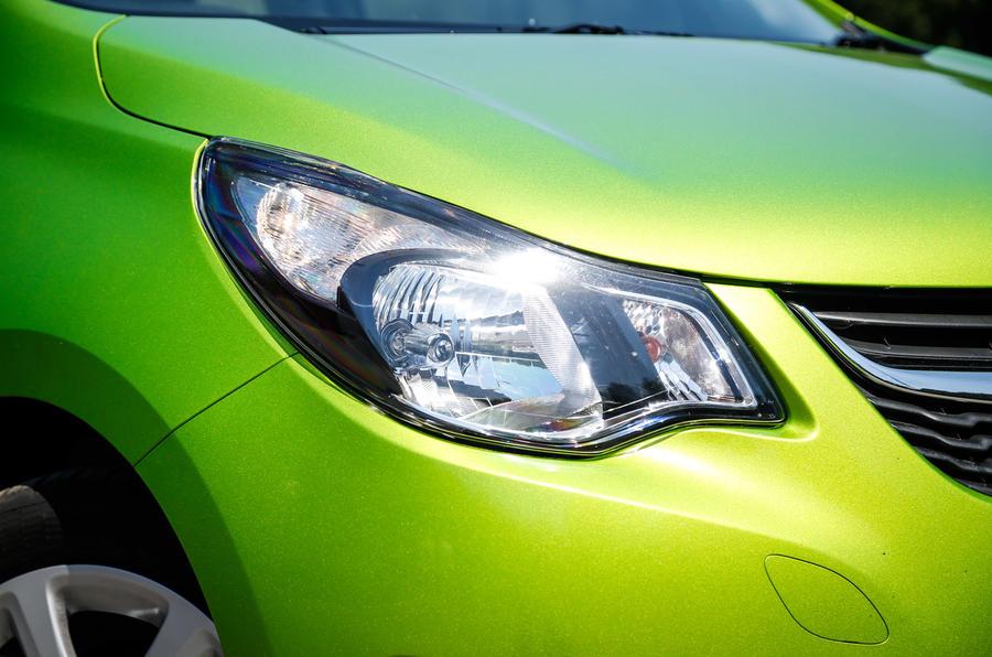 Vauxhall Viva headlight