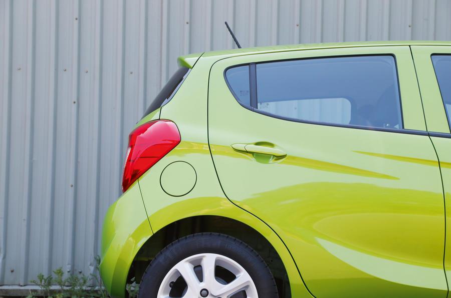 Vauxhall Viva rear doors