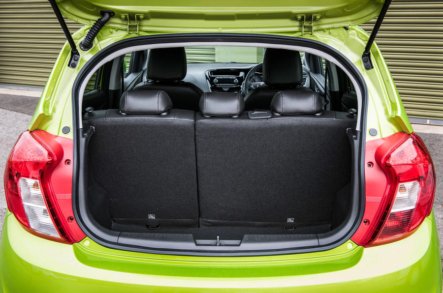 Vauxhall Viva boot space