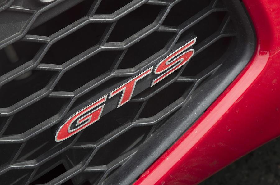 Vauxhall VXR8 GTS badging