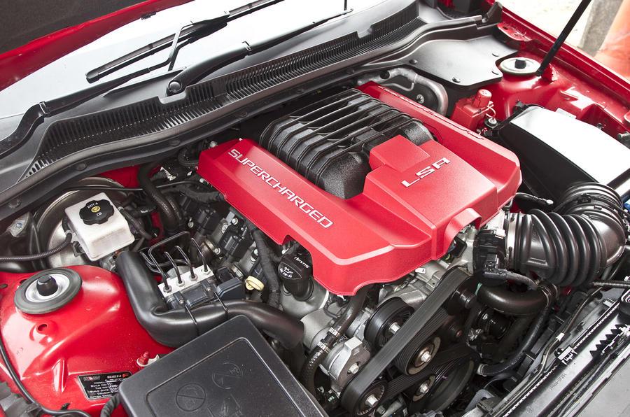 6.2-litre V8 Vauxhall VXR8 GTS engine