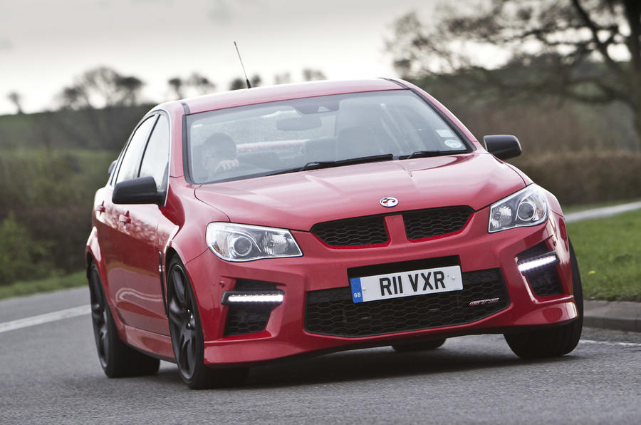 Spending the Easter break in a Vauxhall VXR8