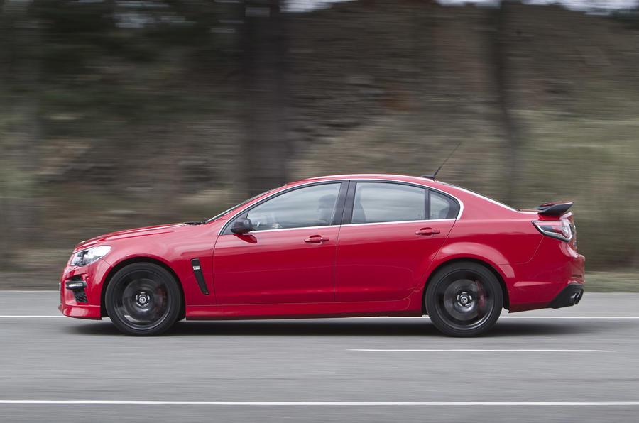 Vauxhall VXR8 GTS side profile