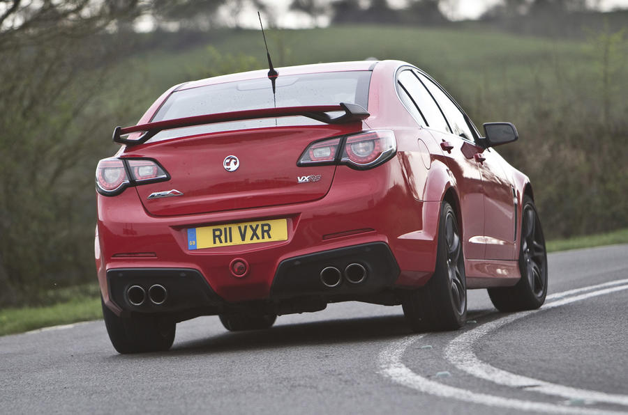 Vauxhall VXR8 GTS rear cornering