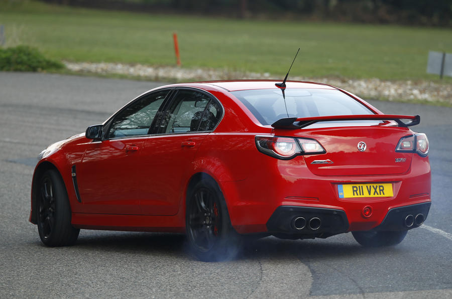 Vauxhall VXR8 GTS rear drifting