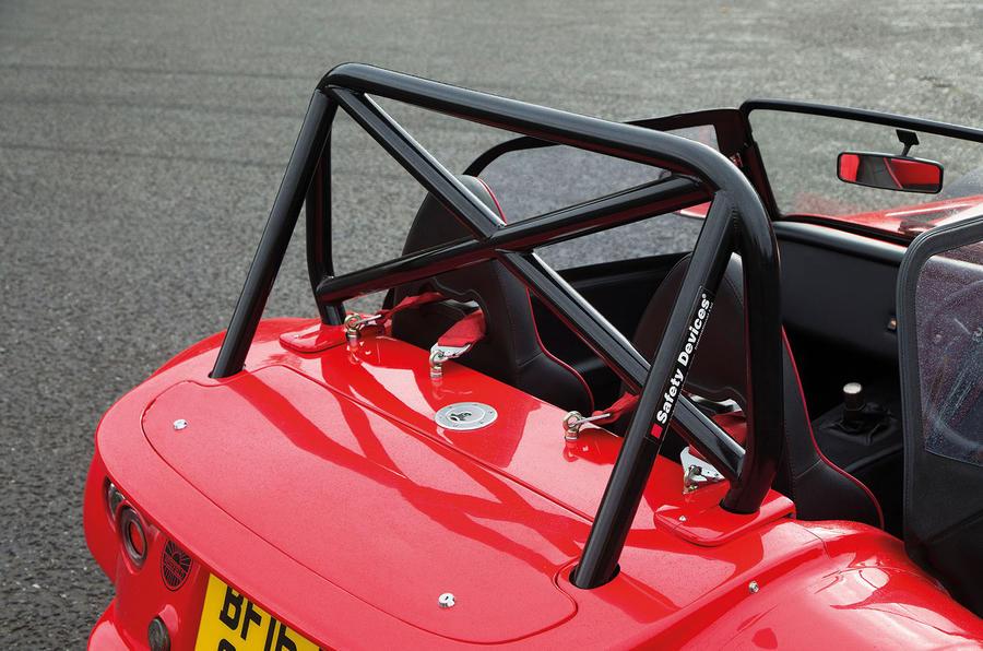 Westfield Sport 250 boot lid