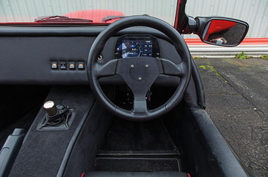 Westfield Sport 250 dashboard