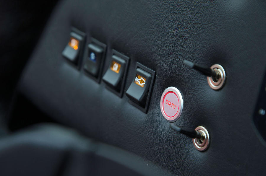 Westfield Sport 250 ignition button