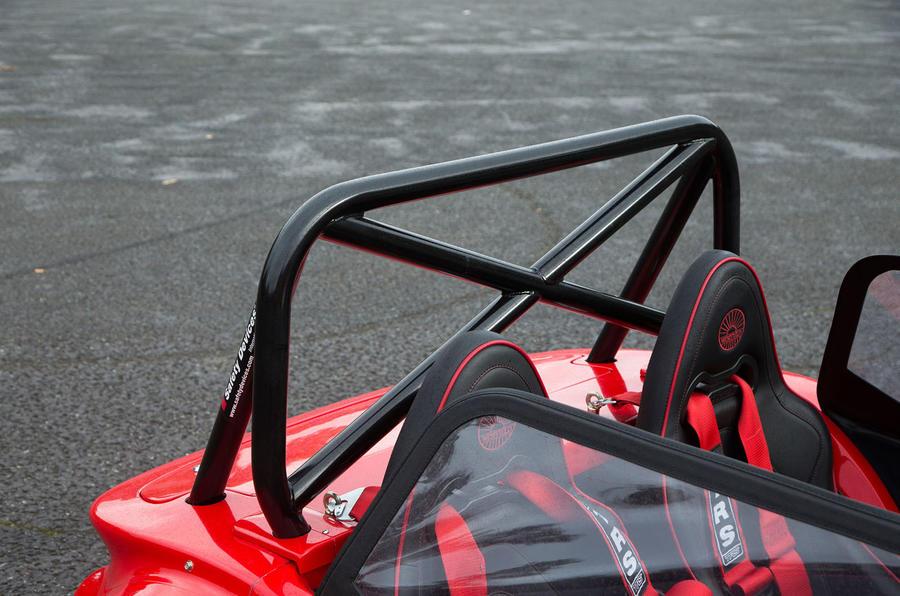 Westfield Sport 250 roll bar