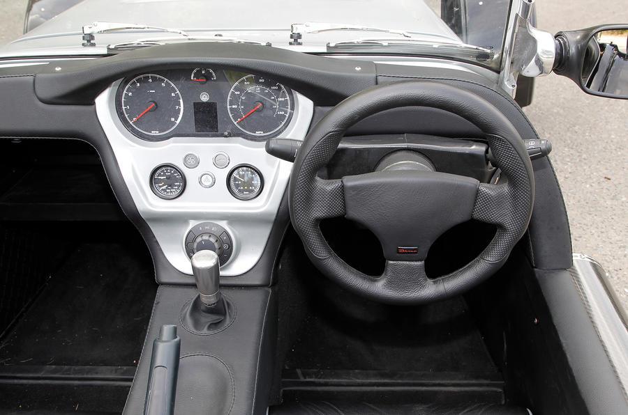 Westfield Sport Turbo dashboard