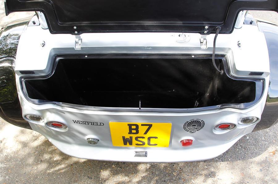 Westfield Sport Turbo boot space
