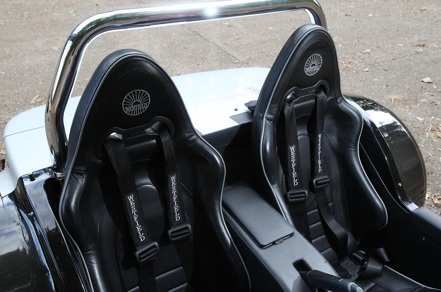 Westfield Sport Turbo racing seats