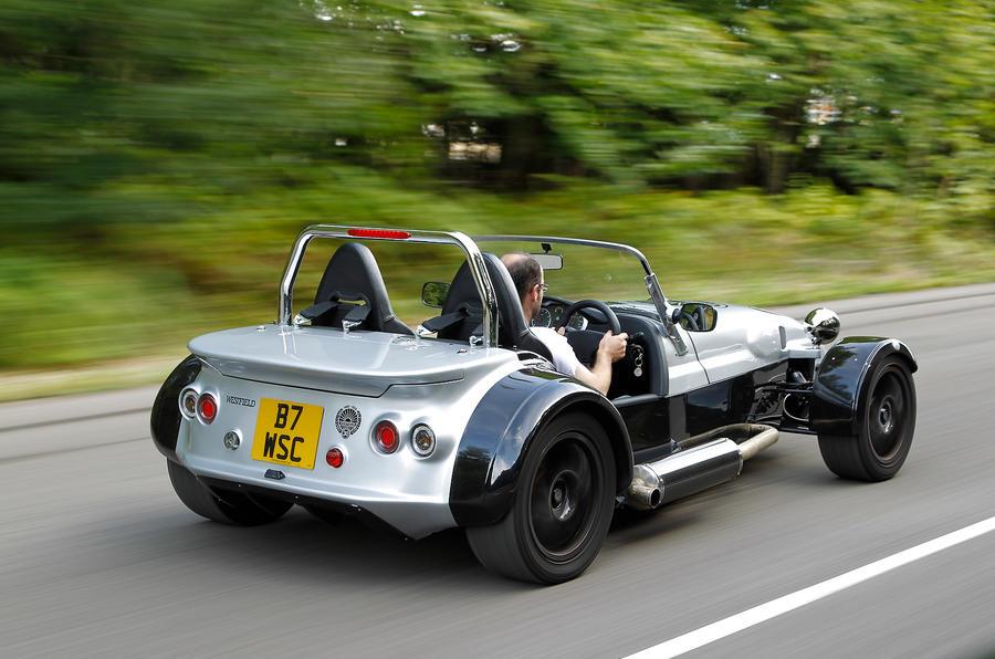 Westfield Sport Turbo rear quarter