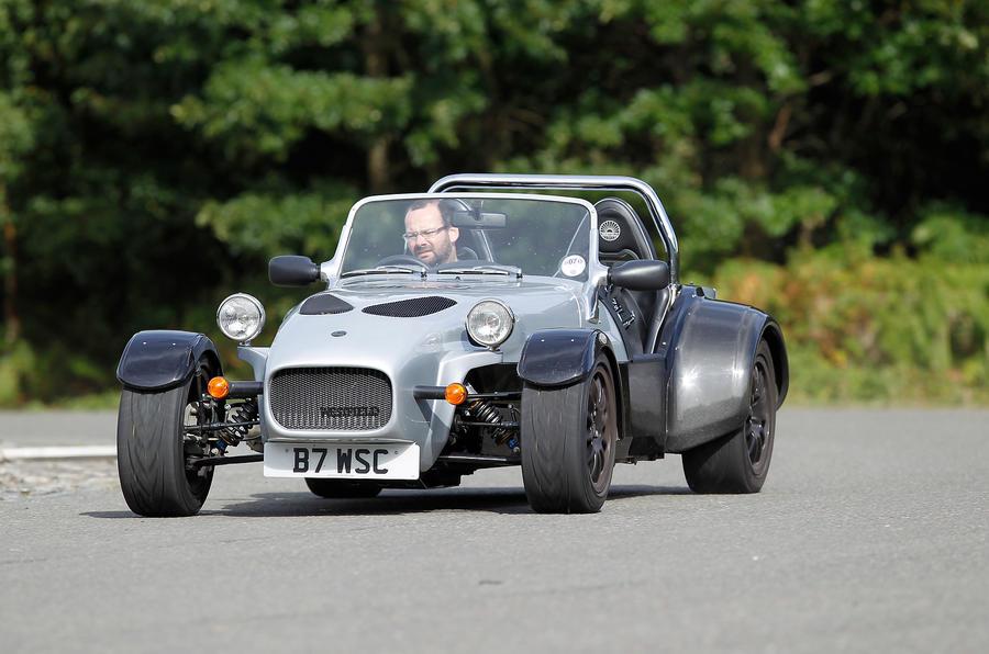 Westfield Sport Turbo cornering