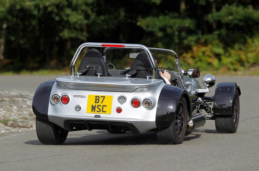 Westfield Sport Turbo rear cornering