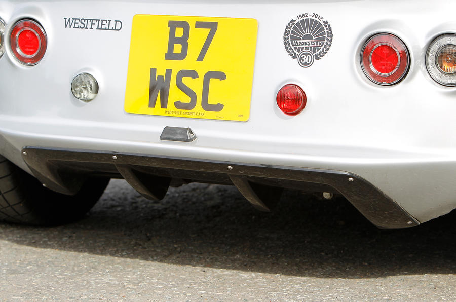 Westfield Sport Turbo rear diffuser