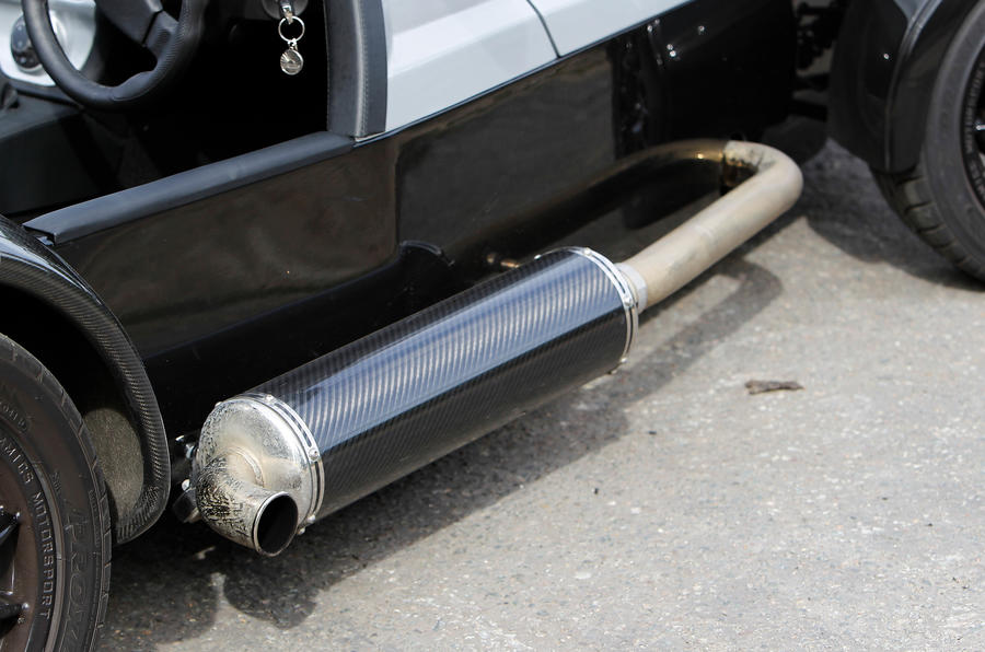 Westfield Sport Turbo exhaust system