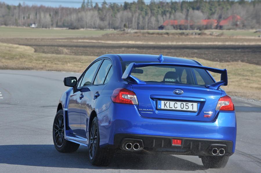 Subaru WRX STI first drive review