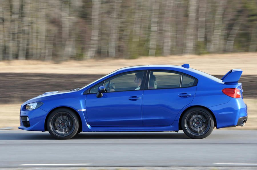 Subaru WRX STI first drive review