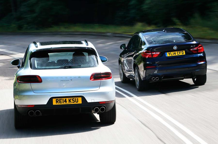 Comparison Bmw X4 Versus Porsche Macan Autocar