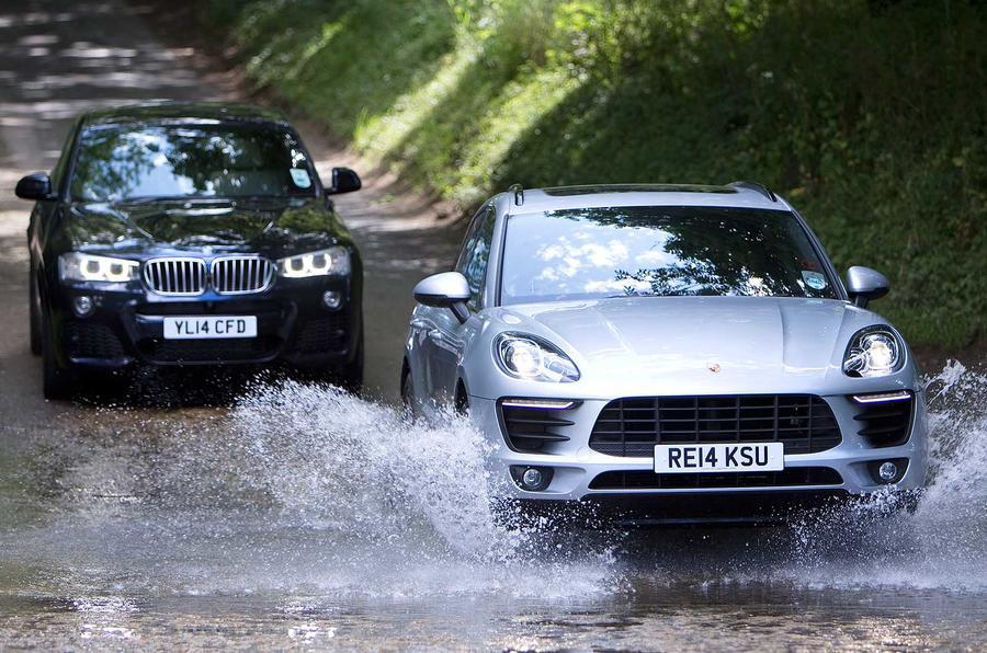 Comparison: BMW X4 versus Porsche Macan