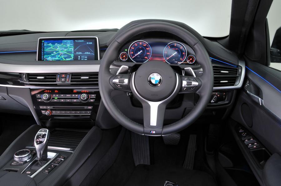 BMW X6 dashboard