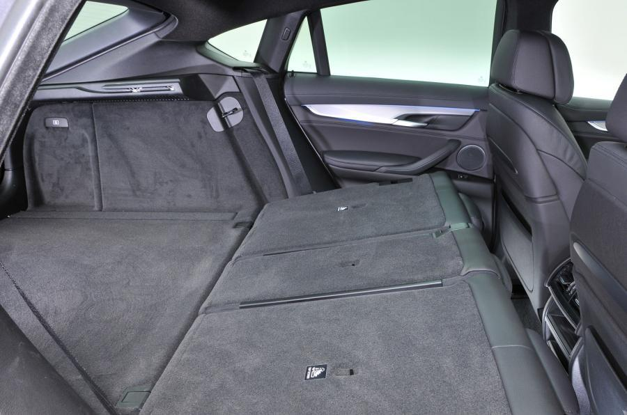 BMW X6 seating flexibility