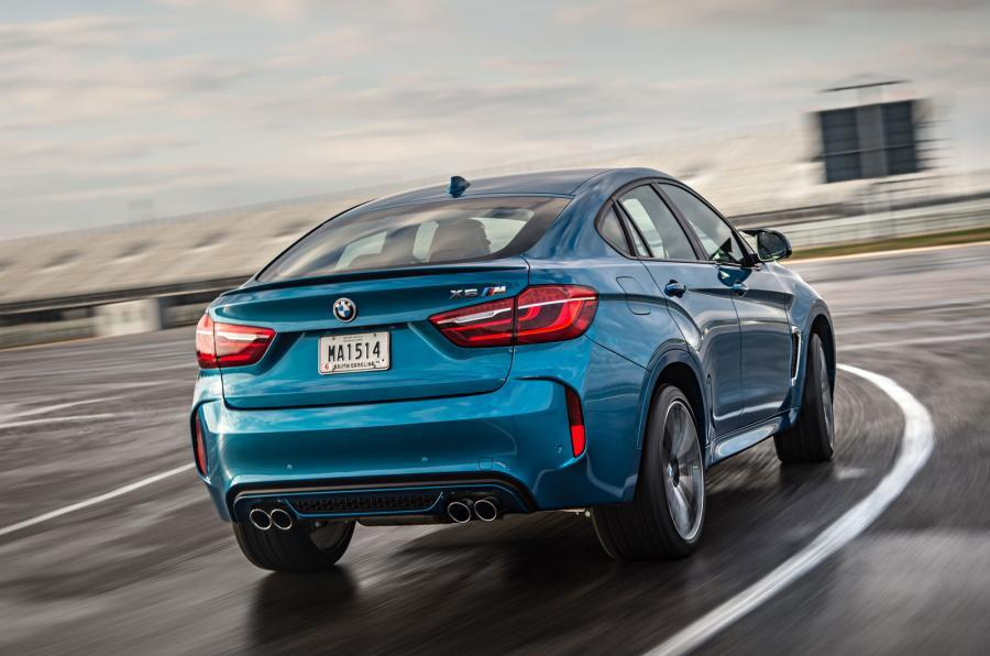 BMW X6 M Coupé rear