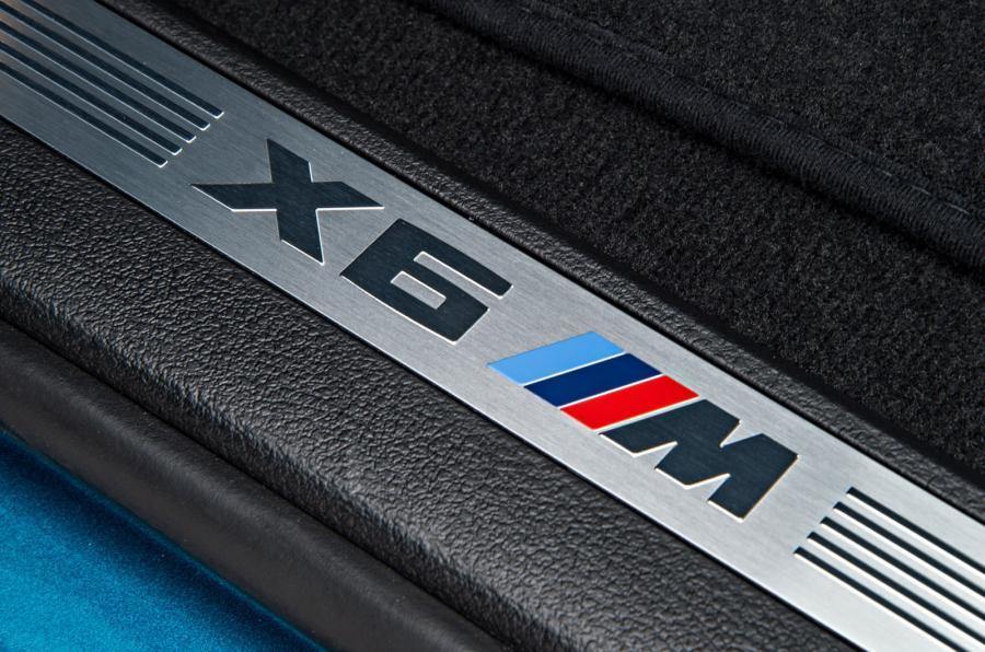 BMW X6 M's kickplates