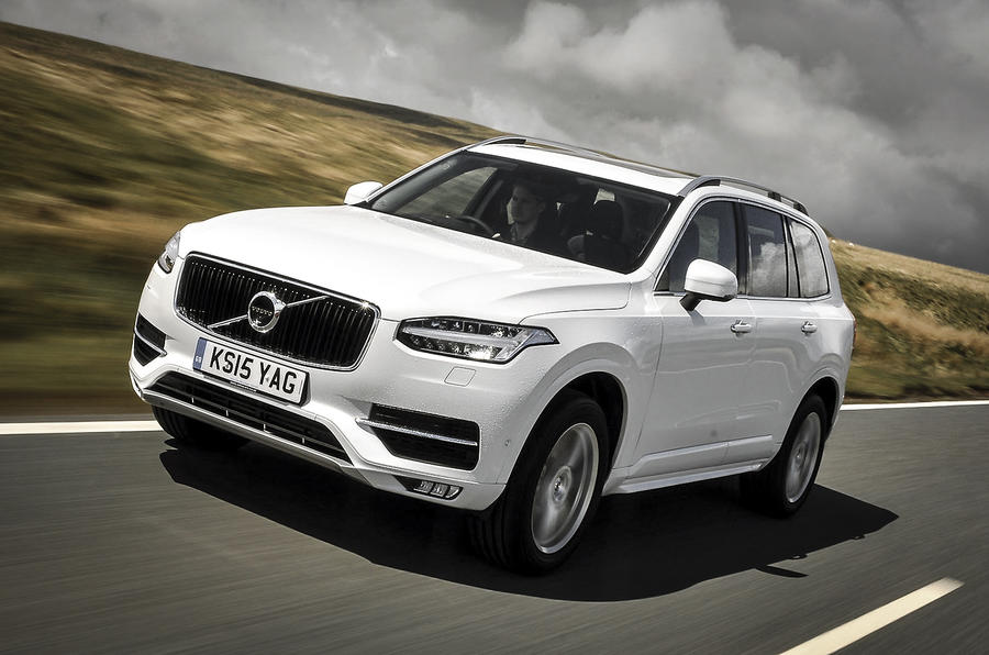 volvo xc90 review 2017 autocar. Black Bedroom Furniture Sets. Home Design Ideas