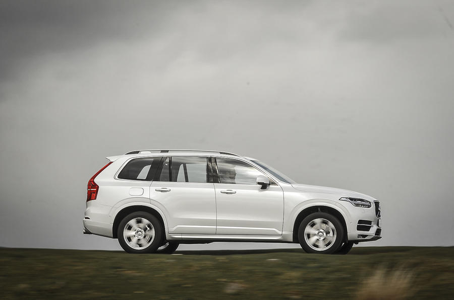 Volvo XC90 side profile