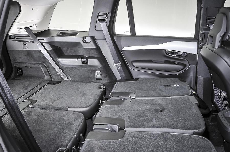 Volvo XC90 seat flexibility