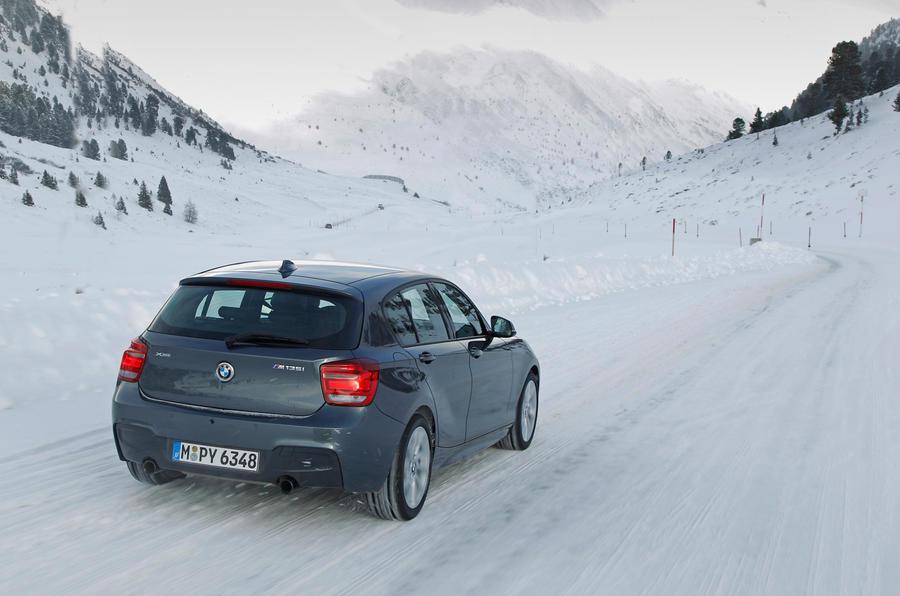 BMW M135i xDrive off-road