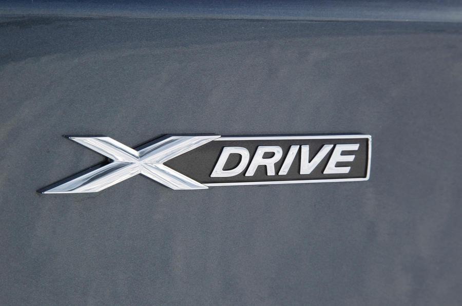BMW M135i xDrive badging