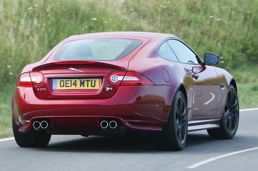 comparison jaguar xk dynamic r versus f type r coupe autocar