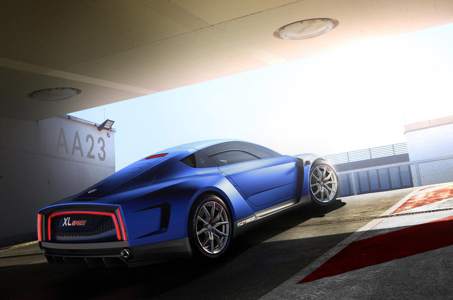 VW reveals 167mph Ducati-engined XL Sport concept