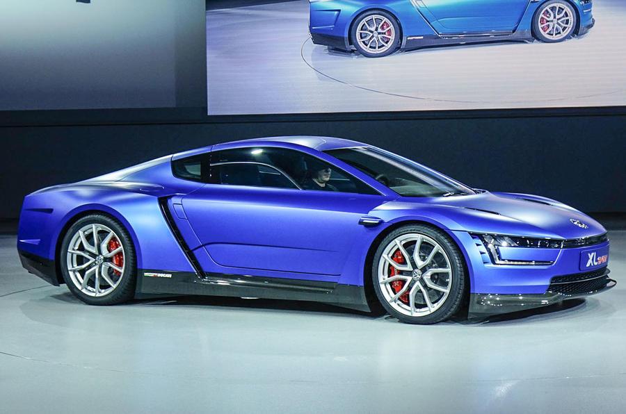 VW reveals 167mph Ducati-engined XL Sport concept