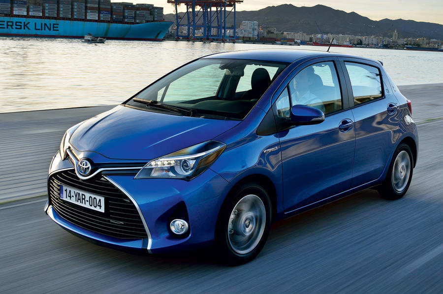 Facelifted Toyota Yaris unveiled