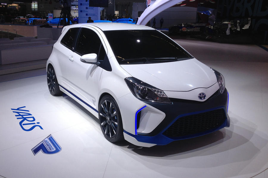 Frankfurt motor show 2013: Toyota Yaris Hybrid-R