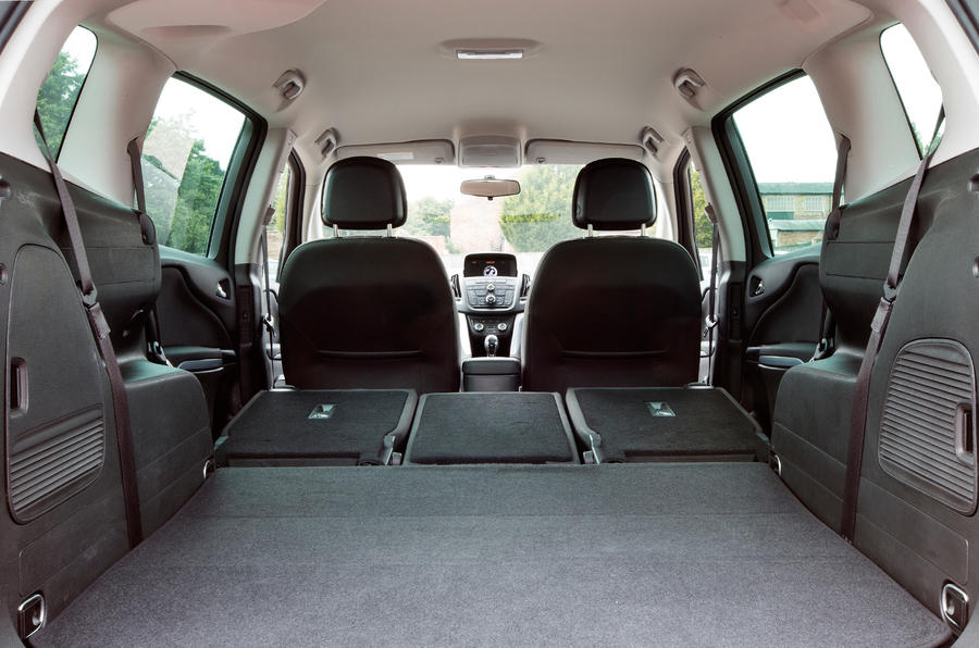 There's 1860 litres of space on offer with all the seats folded down