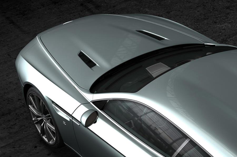 aston martin virage shooting brake zagato revealed autocar