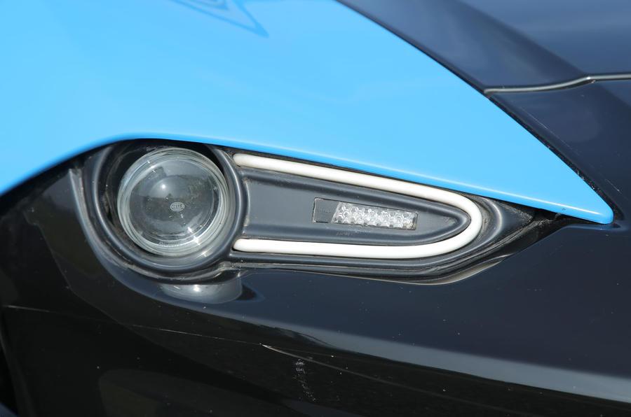 Zenos E10 S headlight