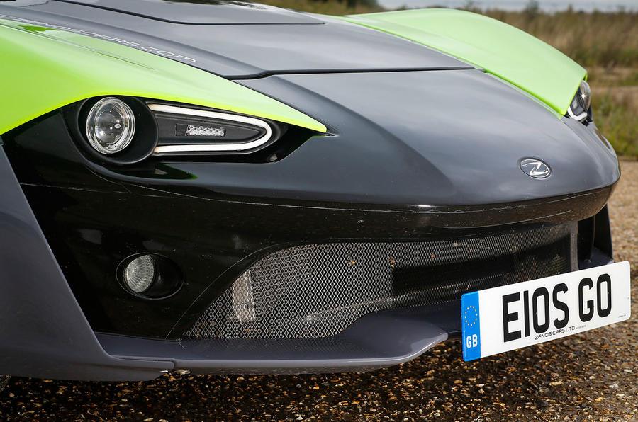 Zenos E10 S front end