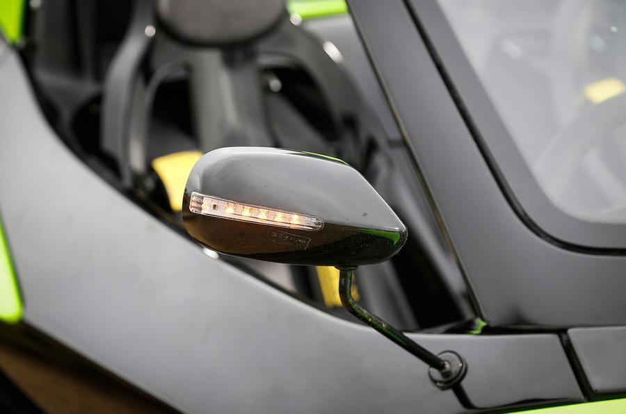 Zenos E10 S wing mirror