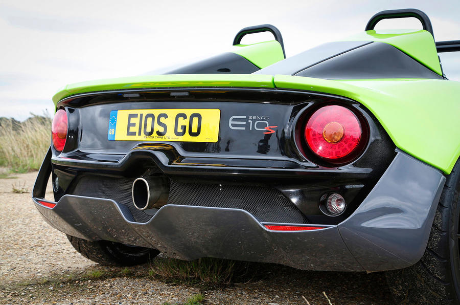 Zenos E10 S rear end