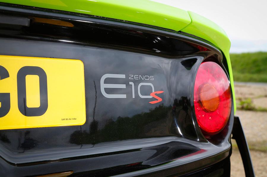 Zenos E10 S badging