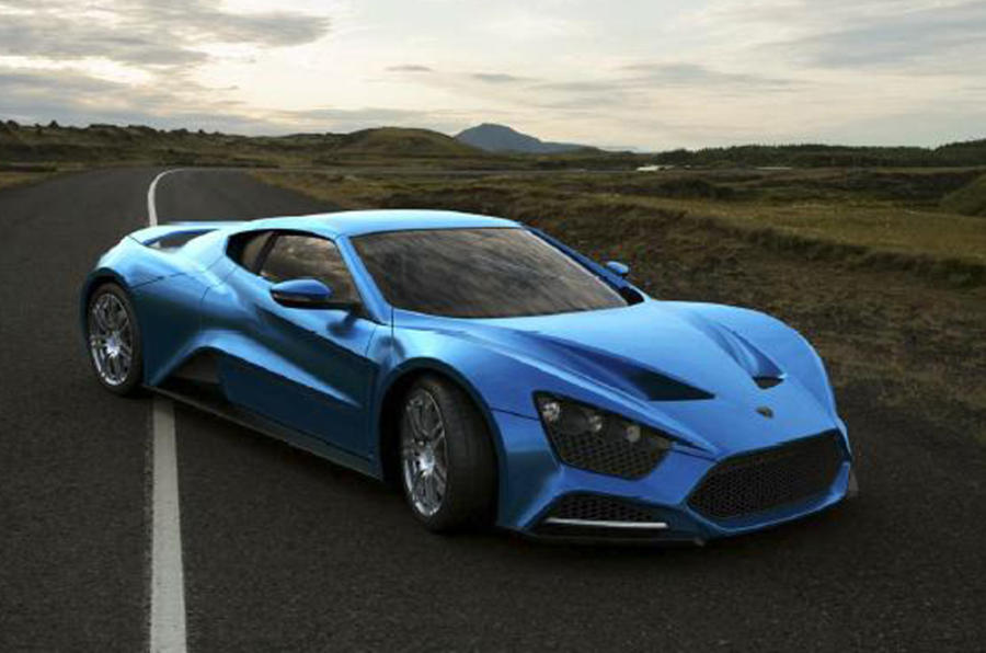 Hotter Zenvo ST-1 announced