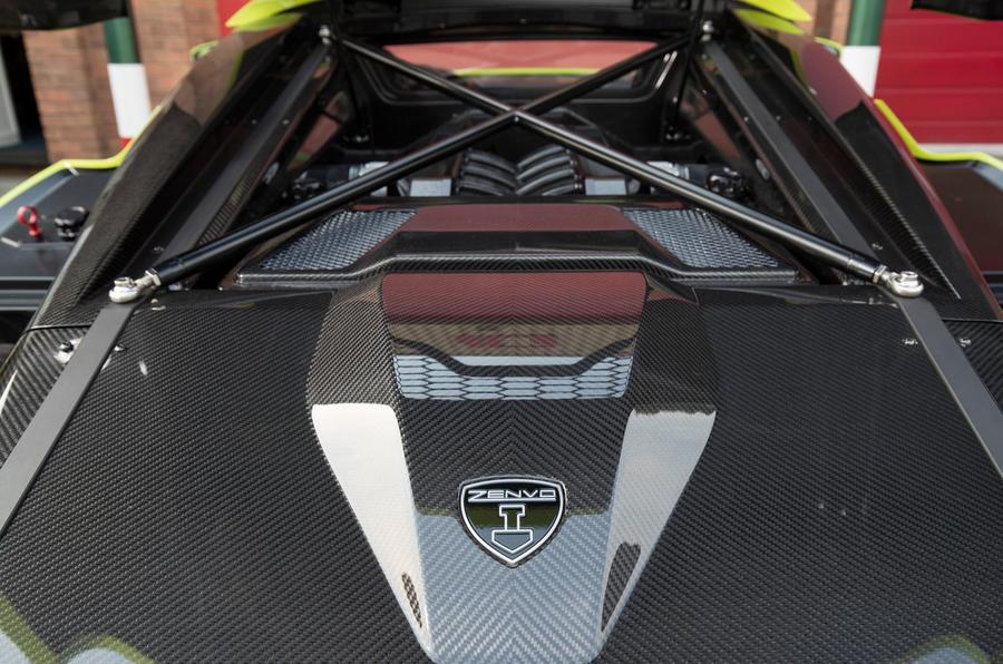 5.8-litre V8 Zenvo TS1 GT engine