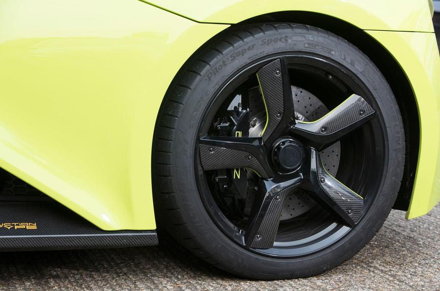 Zenvo TS1 GT alloy wheels